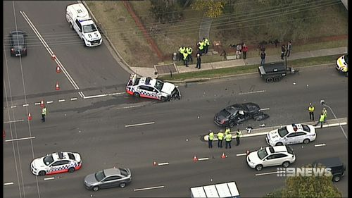 A critical incident was launched and the road was closed westbound for a large part of the afternoon.