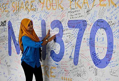 MH370 memoria (AAP)