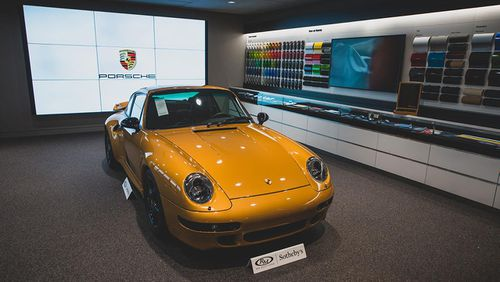 The Project Gold Porsche which fetched AUD$4.3m at auction.
