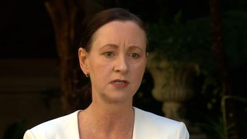 Queensland Health Minister Yvette D'Ath