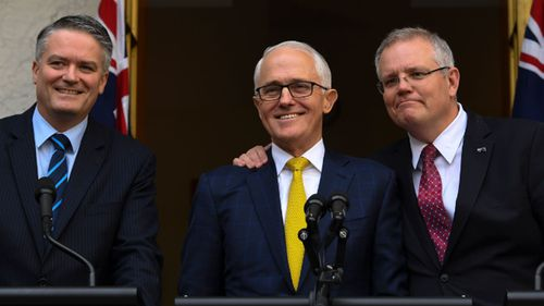 Mathias Cormann says he wishes Malcolm Turnbull was not ousted as Liberal leader but that the former prime minister had a hand in his own demise.