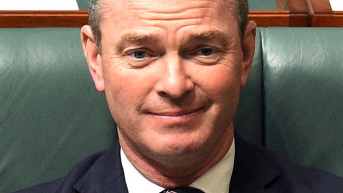 Christopher Pyne has been appointed as Minister for Defence Industry. (AAP)