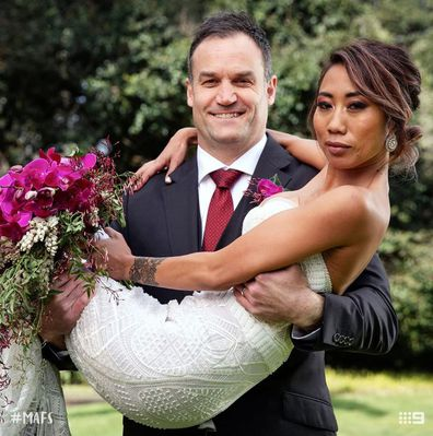 Ning and Mark from Married At First Sight