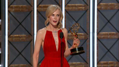 Nicole Kidman wins Emmy for Best Actress in a Limited Series or Movie