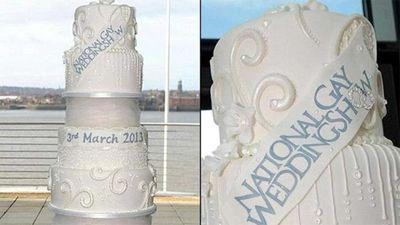UK bakery create $52.7 million cake for National Gay Wedding Show