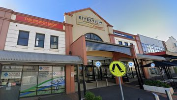 Windsor Riverview Shopping Centre north-west of Sydney yesterday.