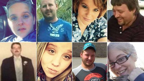 Eight people from the Rhoden family were found shot to death during a suspected custody battle between the families.