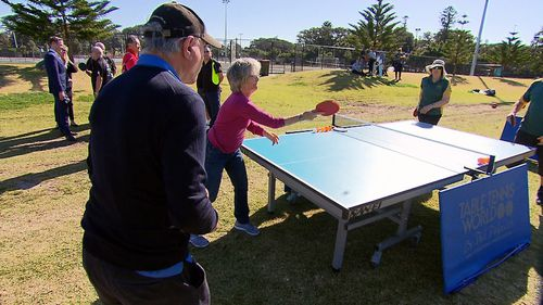 Hundreds of seniors over the age of 65 are joining NSW sporting clubs to participate in modified activities. Picture: 9NEWS.