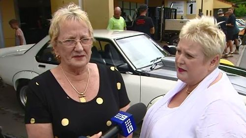 Mark Broadhead's mother and sister just hope the next owner of the car loves it as much as he did. (9NEWS)