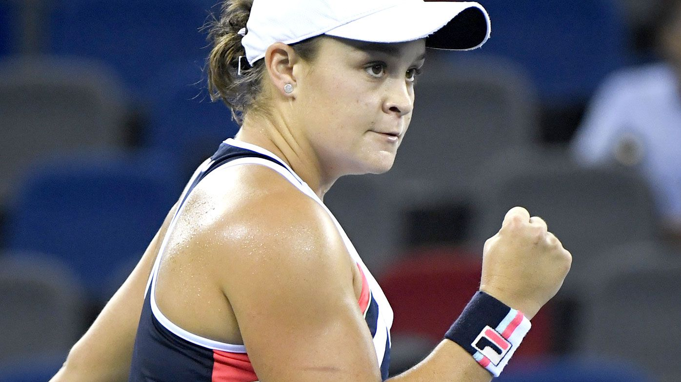 Barty storms into WTA's Wuhan Open final