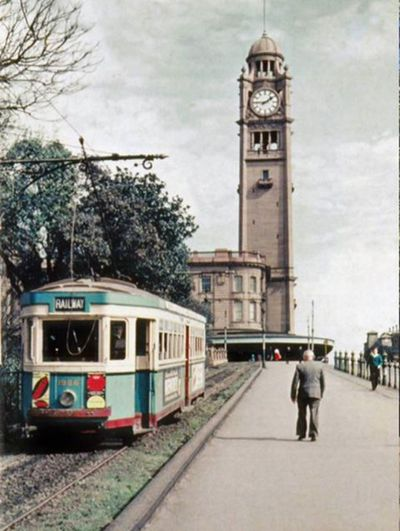 Central Station in Sydney, 1957