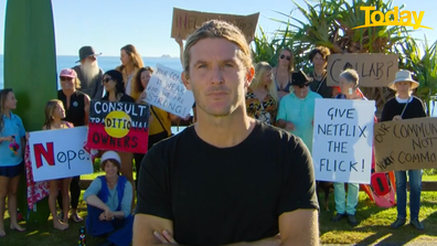 Ben Gordon, a Byron Bay local, said the series misrepresents what the town is really about.