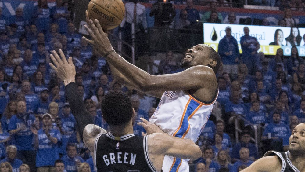 Kevin Durant. (AAP)