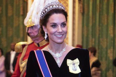 Kate, Duchess of Cambridge: Nizam of Hyderabad necklack