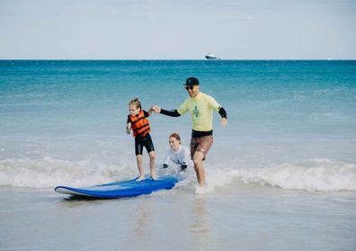 Ocean Heroes autism surfing