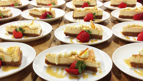 Cheesecakes at Sauce (supplied)