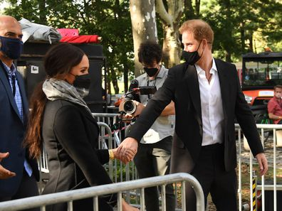 Harry and Meghan New York filming documentary