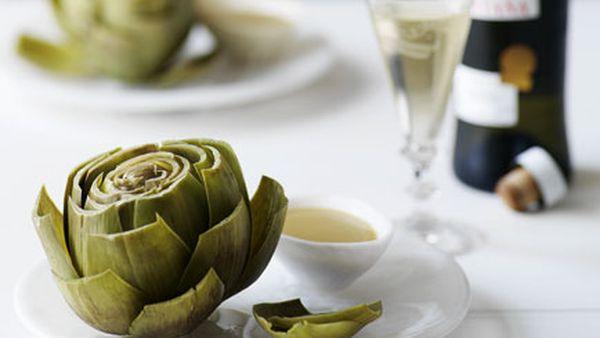 Artichoke vinaigrette
