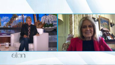 Gloria Steinem on The Ellen DeGeneres Show