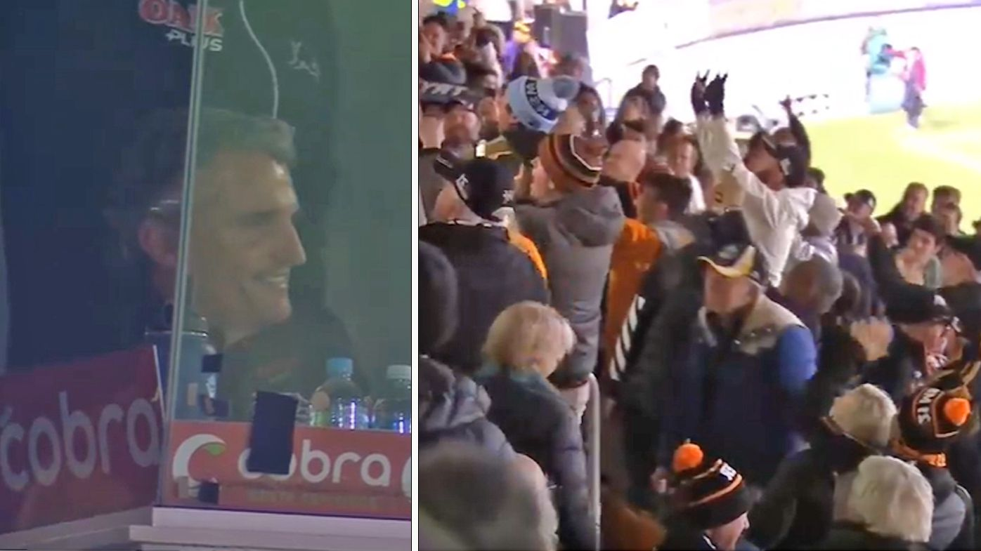 Wests Tigers fans hurl abuse at Panthers coach Ivan Cleary