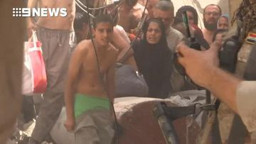 9RAW: Children in Mosul forced to strip to prove they don't have bombs