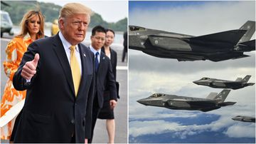 An expert analyst told 9News the F-35 is arguably the most advanced fighter jet in the skies right now, so a response from China is possible.