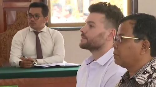 Nicholas Carr in court.