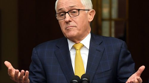 Malcolm Turnbull has yet to see proof that the legal advice was sought.