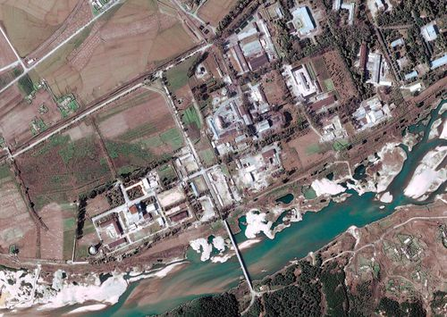 At Yongbyon, North Korea's main nuclear facility which is widely believed to have provided fissile material for its bombs, components appear to have been brought into a light-water reactor being built there.