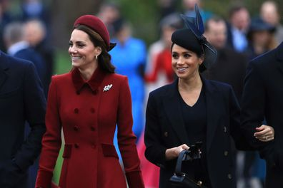 Kate Middleton and Meghan Markle did not attend.