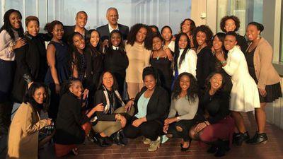 Oprah Winfrey and family...