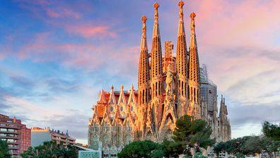 La Sagrada Familiar, Bacelona Spain