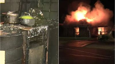 Boy, 4, sets home on fire after 'trying all week'
