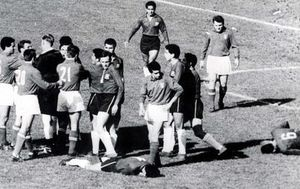 TODAY IN HISTORY: Police separate violent FIFA World Cup players four times in one game