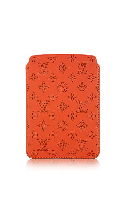 "<a href=""http://au.louisvuitton.com/eng-au/products/softcase-ipad-mini-veau-ecorce-007244"" target=""_blank"">iPad Mini Softcase, $555, Louis Vuitton</a>"