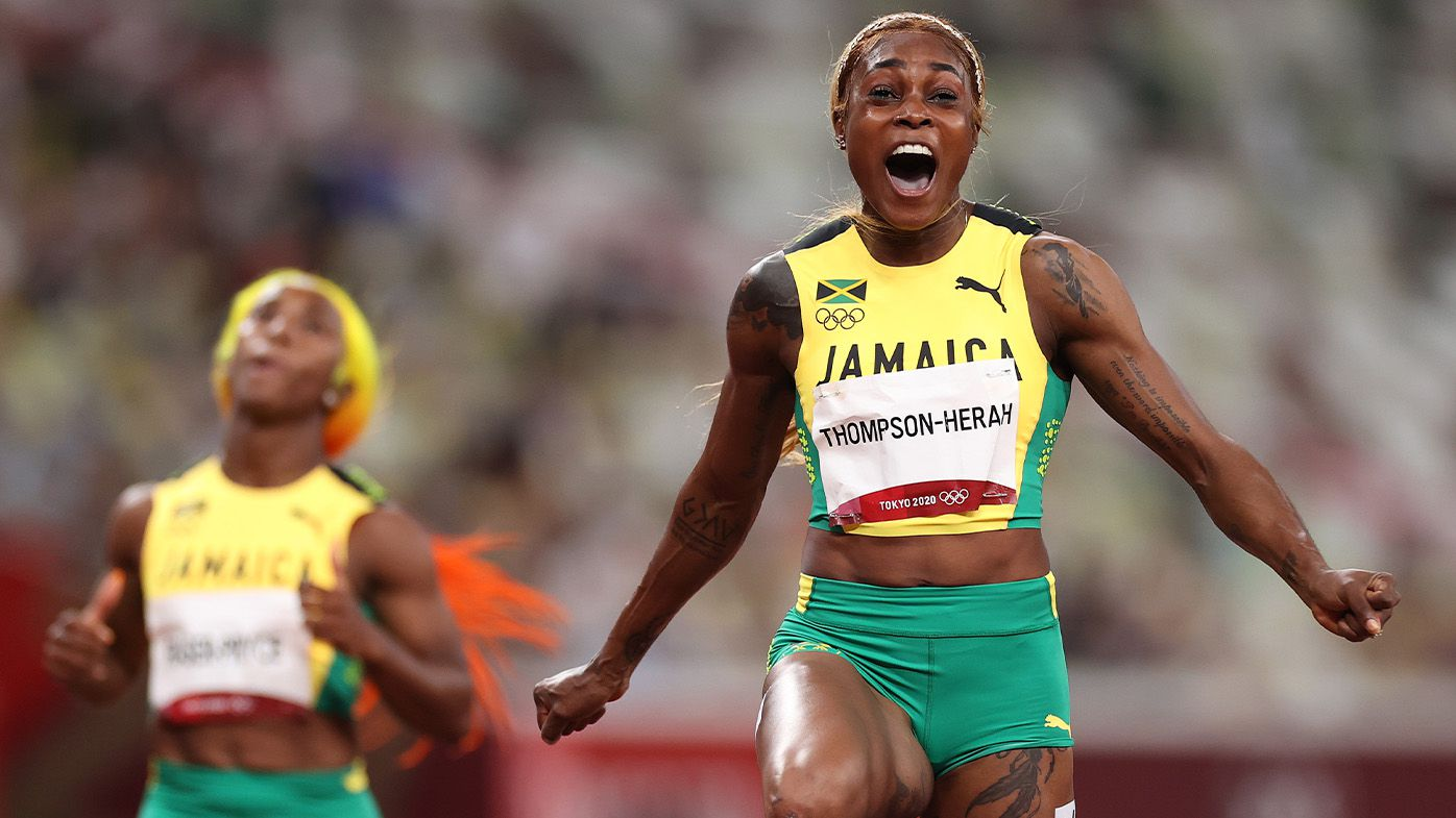 'How much do they hate each other?': Frosty Jamaican Olympic 100m celebrations stoke rumours over team fallout