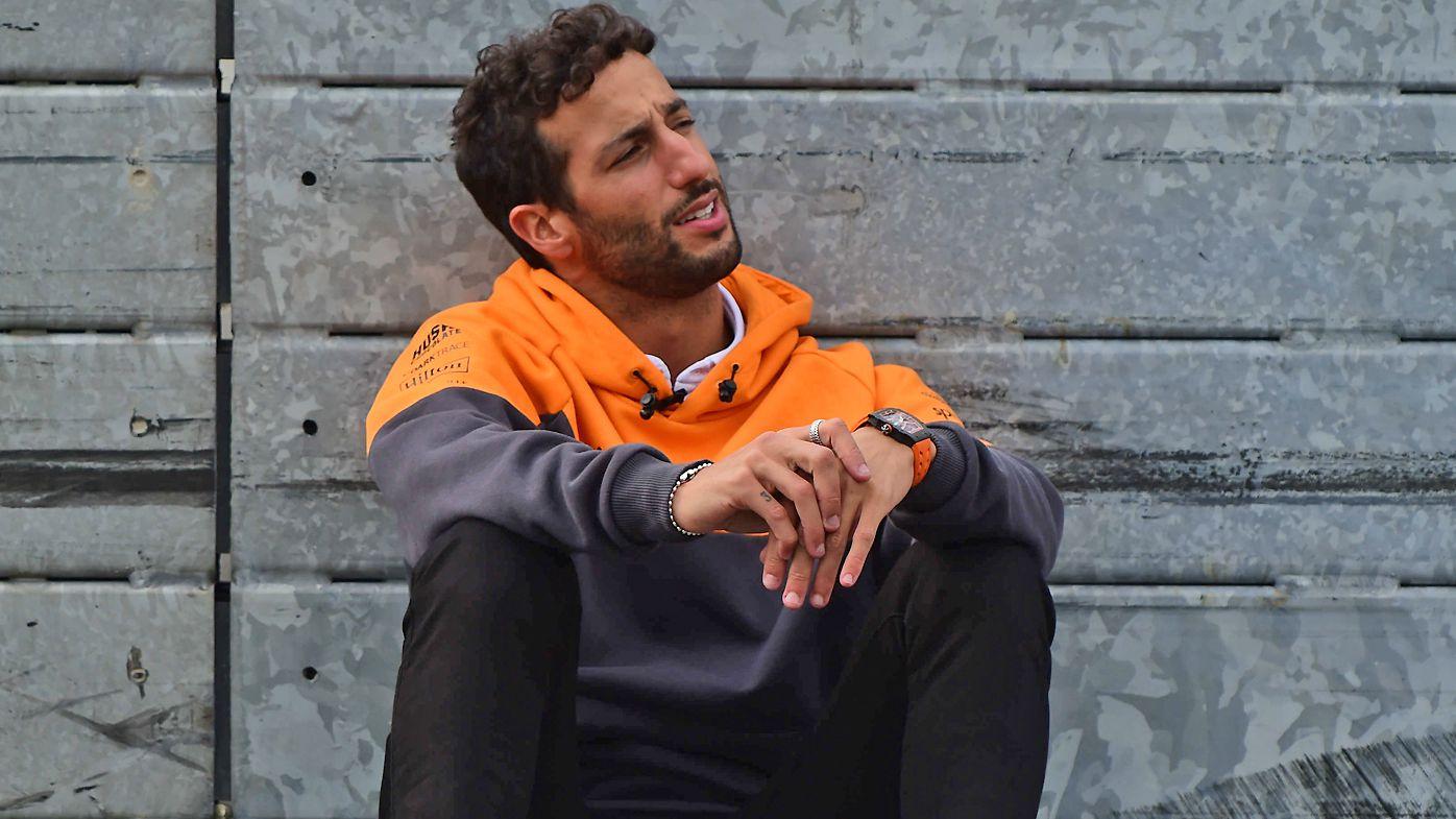 Daniel Ricciardo at the Dutch Grand Prix