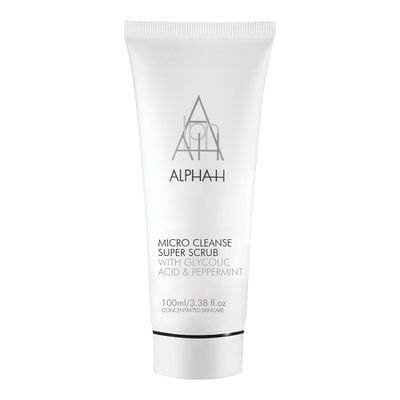 "<a href=""https://www.sephora.com.au/products/alpha-h-micro-cleanse-super-scrub-100ml/v/default"" target=""_blank"">Alpha- H Micro Cleanse Super Scrub 100ml, $50</a>"