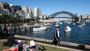 Lavender Bay, on Sydney's north shore, is one of the places where Australians live the longest.