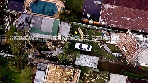 Devastated residents begin clean-up after Sydney savaged by storms