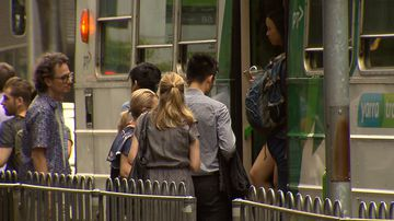 Passengers affected by the delays yesterday can apply for reimbursement.