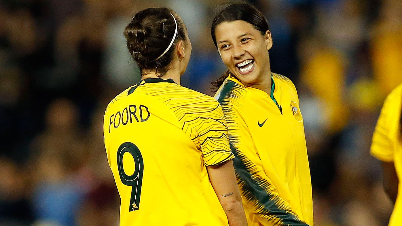 Sam Kerr appointed as Matildas captain ahead of Cup of Nations and Women's World Cup