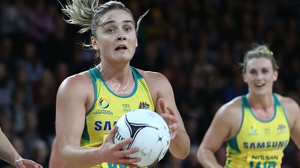 Diamonds edge Ferns in Auckland netball