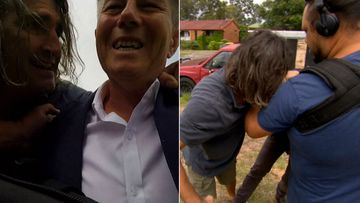 'I'll eat your face off': Nightmare neighbour's tussle with reporter
