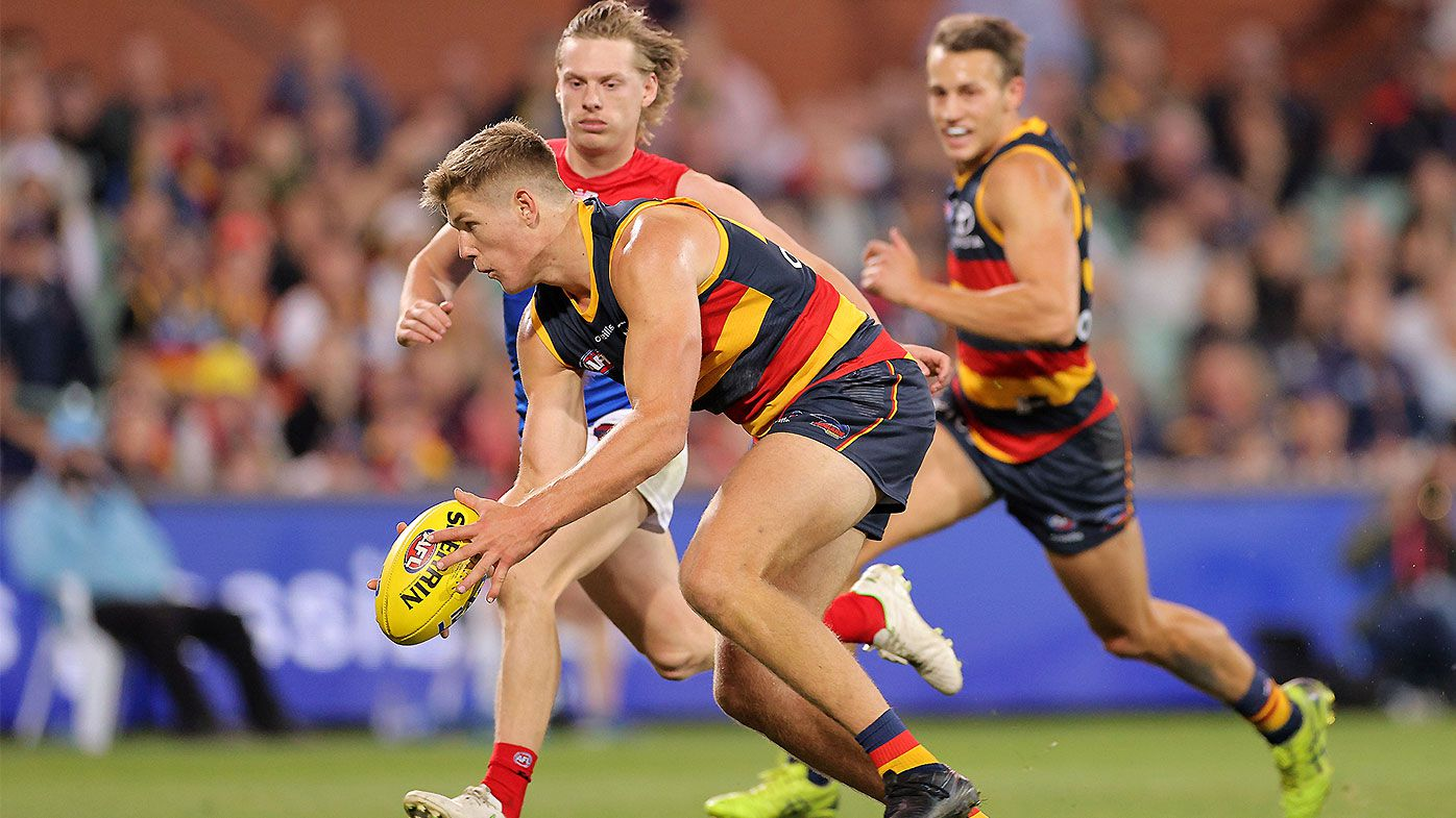 AFL admits umpiring error on deliberate out of bounds non-call in Crows-Demons thriller
