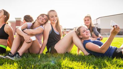 Puberty blues: getting your first period can be confronting. Image: Getty