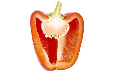 Red capsicum: 171mg vitamin C per 100g