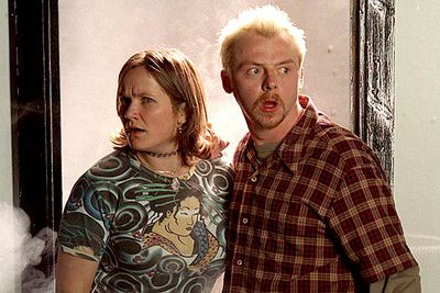 <B>The URST:</B> Tim (Simon Pegg) and Daisy (Jessica Stevenson) posed as a couple to secure their dream apartment in London. While the two are just friends, it's obvious to everyone except them that they could be so much more. Unfortunately the sitcom ended before they had a chance to be together, though Pegg later wrote an unofficial script where the couple more or less confirmed their feelings for each other.
