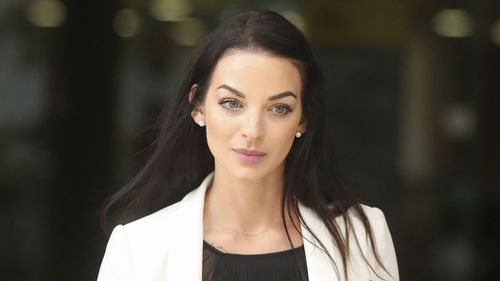 """Seven Network reporter Laura Banks """"hunted"""" Mehajer, who slammed a car door on her arm. (AAP)"""