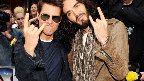 Tom Cruise wants Russell Brand to be a Scientology spokesman